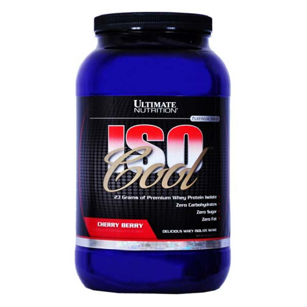 Ultimate Nutrition Iso Cool  908 гр / 2lb