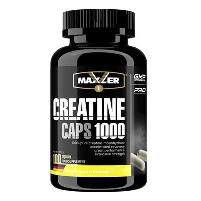 Maxler Creatine Caps 1000 100 капс