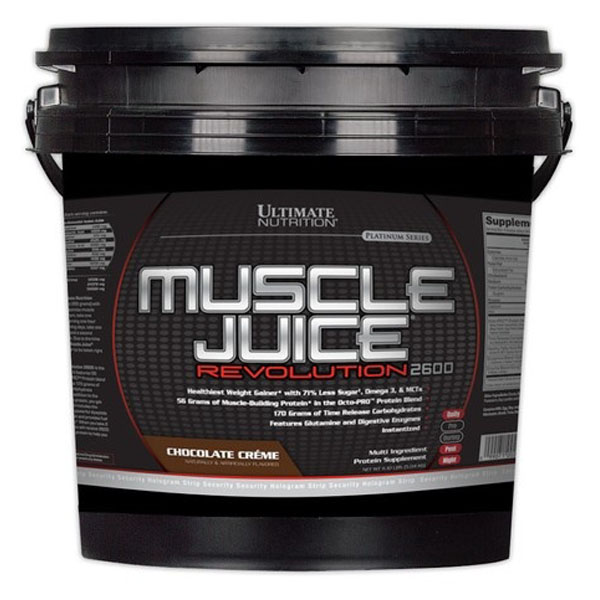 Ultimate Nutrition Muscle Juice Revolution 2600 5040 гр / 11lb