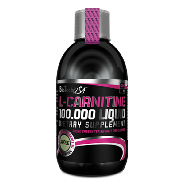 Biotech L-carnitine liquid 100000 mg 500 мл