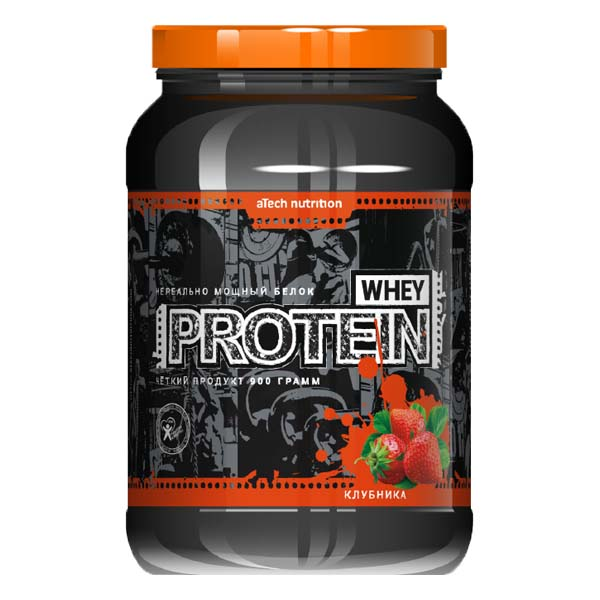 aTech Nutrition Whey Protein 100% 0,9 кг
